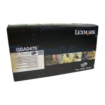 LEXMARK E320 E322 GOV TONER CART BLACK RP 6K